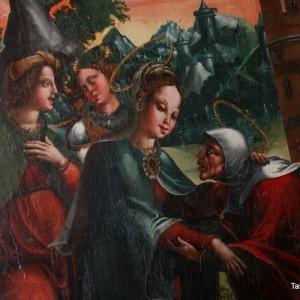 San Nicolás - Pintura