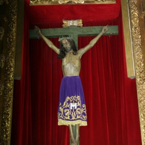 Capilla - Imagen del Santísimo Cristo de las Injurias