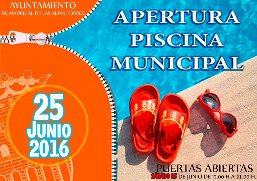 cartelPiscinasapertura