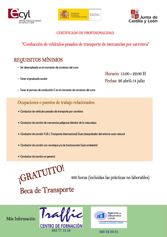 CARTEL CURSO TRAFFIC CONDUCTOR