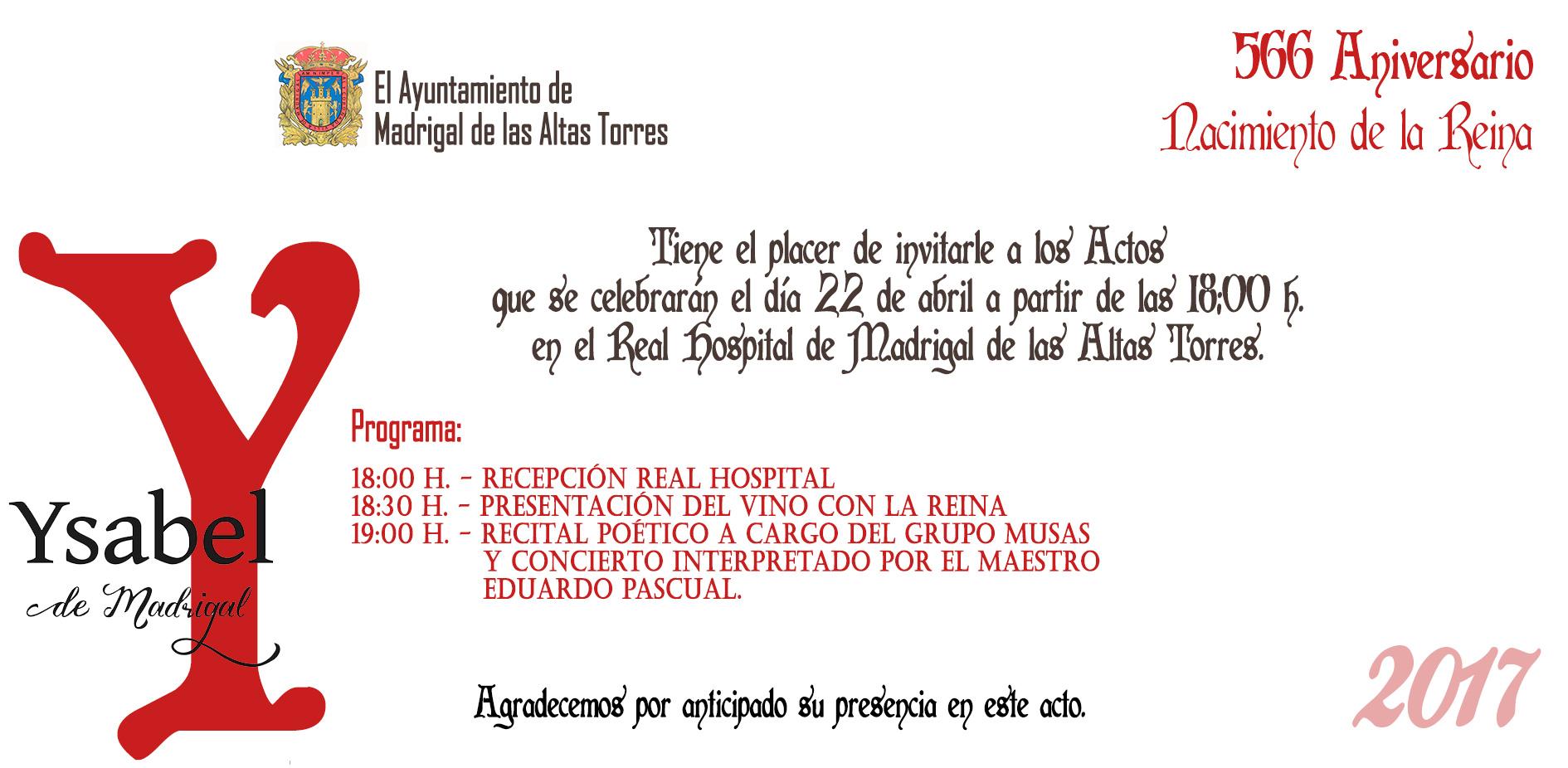 invitacionReina2017