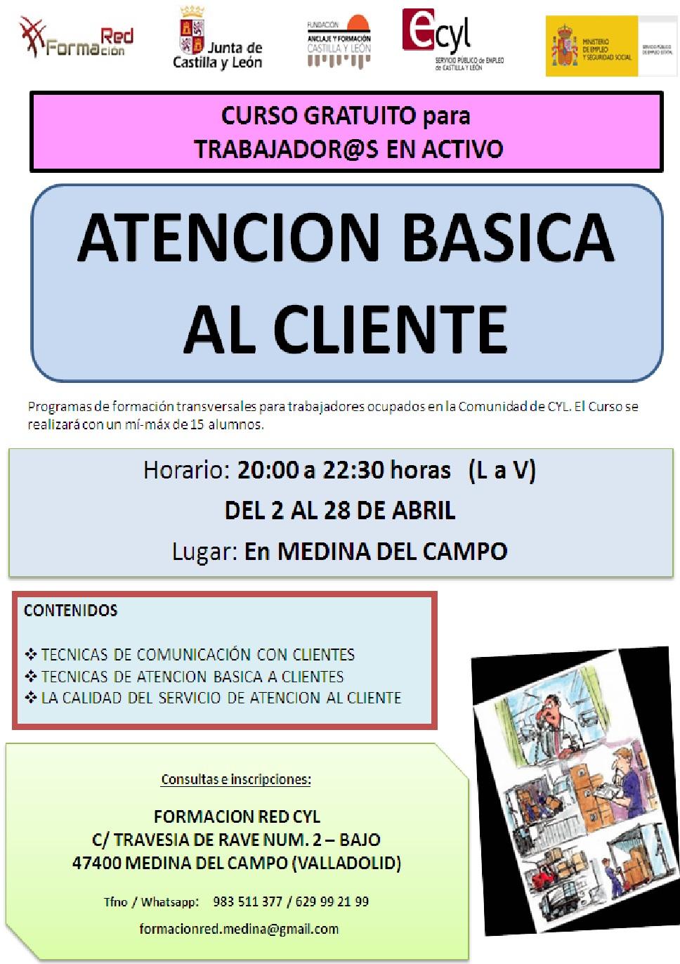 Cursos Gratuitos En Medina Del Campo Para Trabajadores Y Desempleados Ayuntamiento De Madrigal De Las Altas Torres