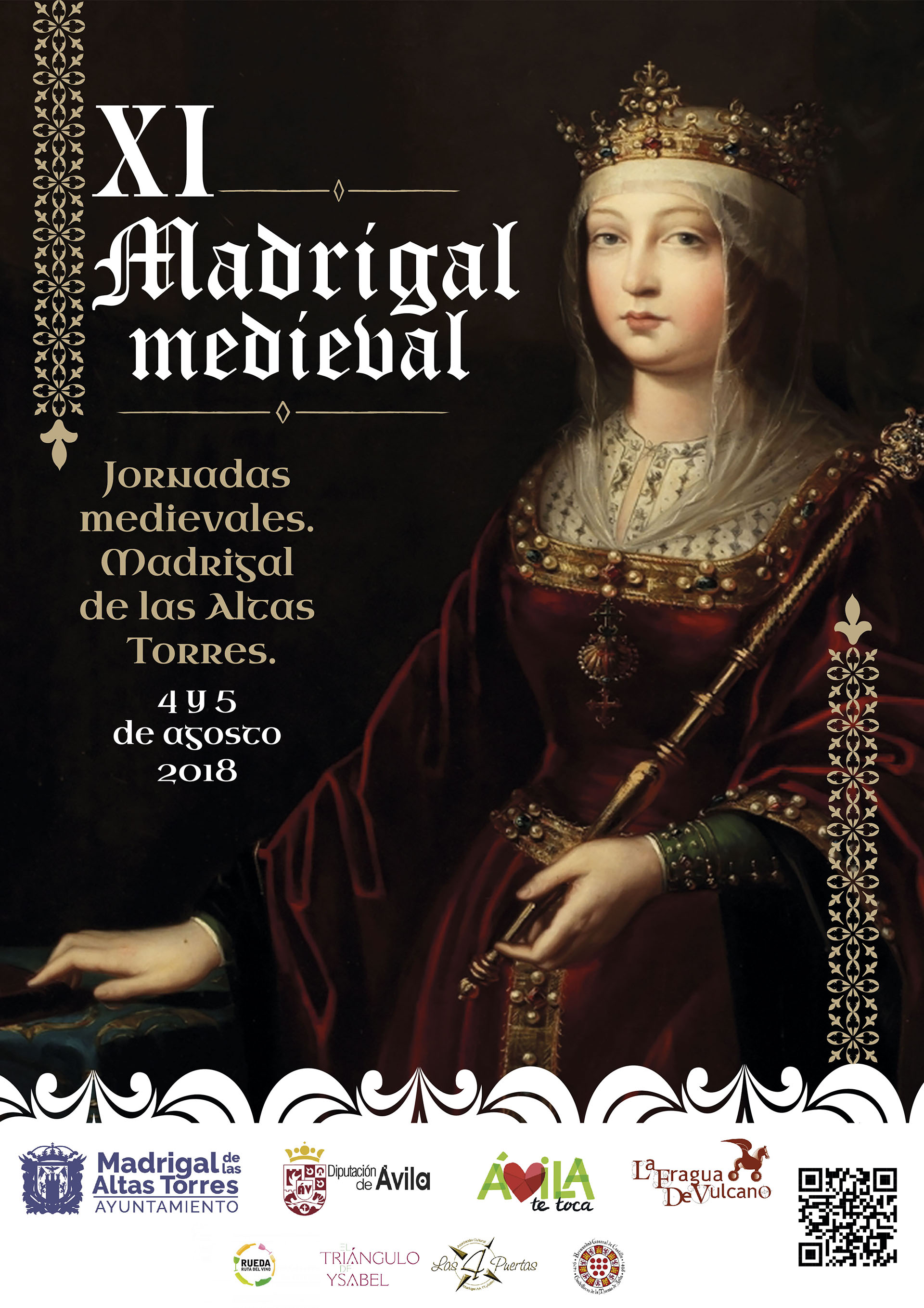 Cartel XI Madrigal Medieval