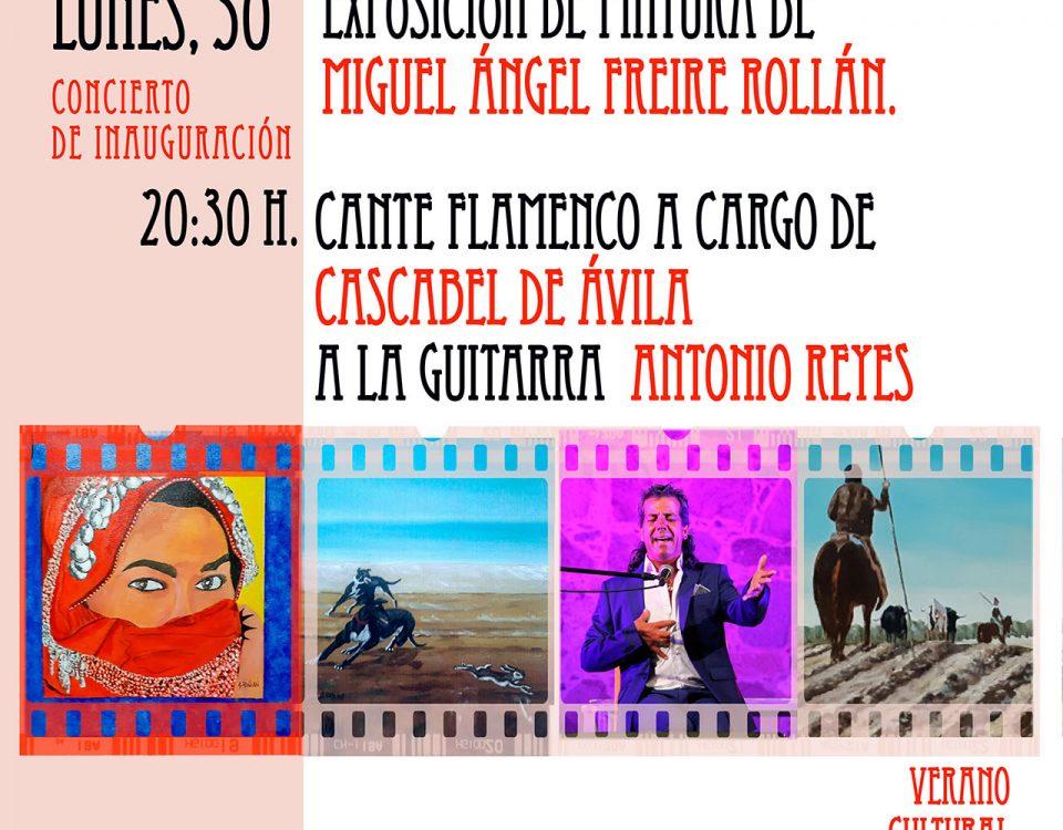 Exposición de Pintura de Miguel Ángel Freire Rollán