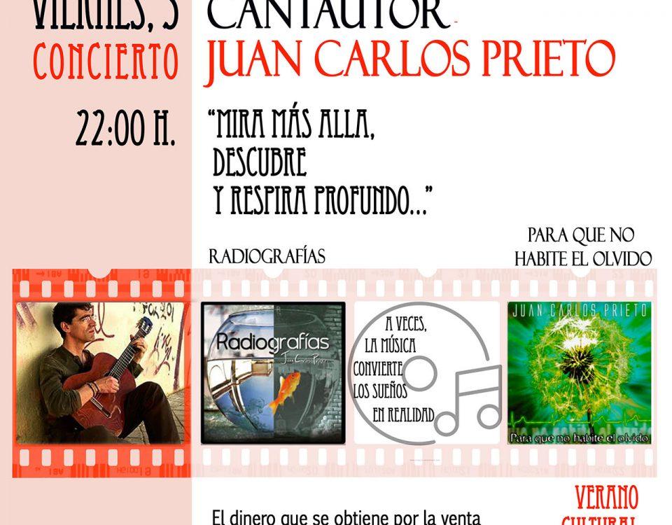 Concierto Cantautor: Juan Carlos Prieto