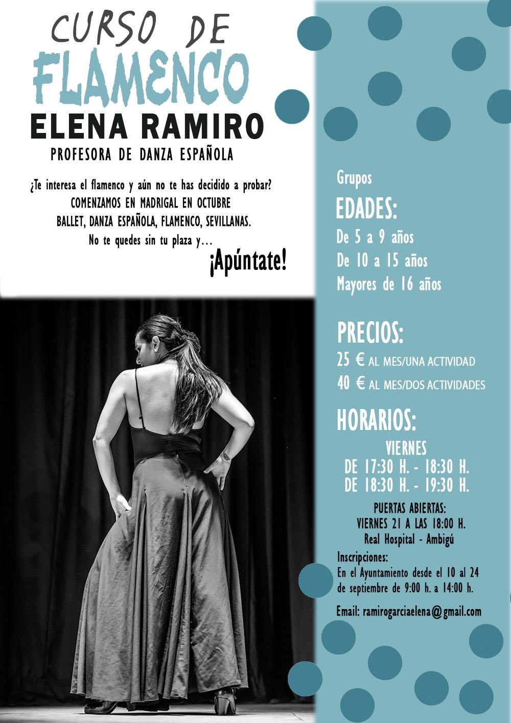 Curso de Flamenco 2018